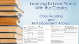 Poetry- Close Reading & Text Dependent Analysis