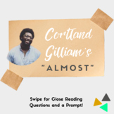 Poetry: Close Reading + Writing Prompt   Cortland Gilliam'