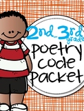 Close Read Poetry 2nd - 3rd grade for Rhyme, Rhythm, & Fig