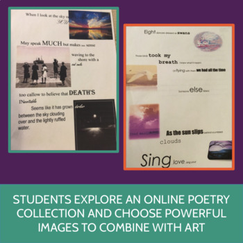 Poetry Collage: Poetry Outside the Textbook, ELA 7-10