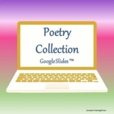Poetry Collection-Google Slides™ Templates Distance Learning