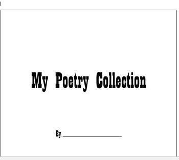 Poetry Collection Templates