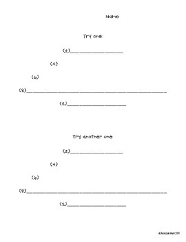 Poetry Collection - Templates and Instructions - 35 Pages!