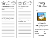 Poetry Collection Trifold - myView 5th Grade Unit 1 Week 4