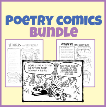 Poetry Comics Bundle