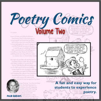 Poetry Comics Vol.2: Imagery, Form, and Irony: Activities Included