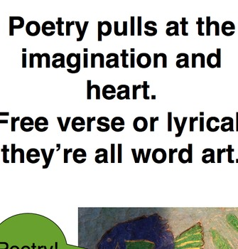 Poetry-Comparing Lyrical and Free Verse