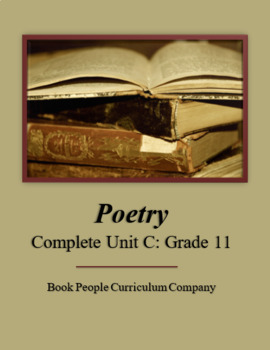 Poetry Complete Unit C (Grade 11)