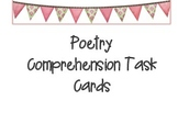 Poetry Comprehension Task Cards