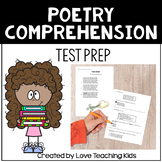 Poetry Comprehension 2- Test Prep