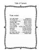 Poetry Copywork - Handwriting Practice through Classic Poems
