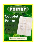 Poetry: Couplet Poem Lesson Plan