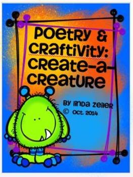 Poetry & Craftivity:  Create-A-Creature