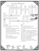 Poetry Crossword