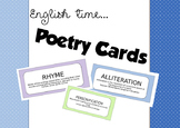 Poetry Definition Cards