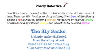 Poetry Detective