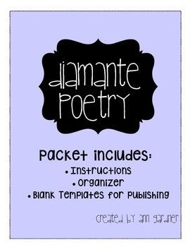Poetry - Diamante