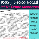 Poetry Choice Board