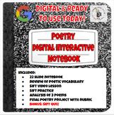 Poetry Digital Interactive Notebook