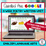 Poetry Digital Resource 3 Week Writing Unit Google Slides