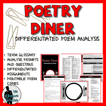 Poetry Analysis: Poetry Diner Activities