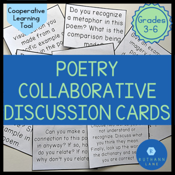 Poetry Collaborative Discussion Cards