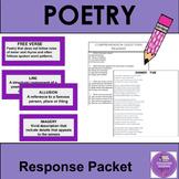 Poetry Unit Resources
