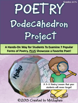 Poetry Dodecahedron Project Kit