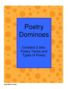 Poetry Dominoes