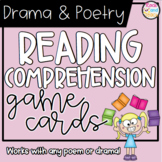 Poetry & Drama Reading Comprehension Game