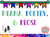 Poetry, Drama, and Prose PowerPoint