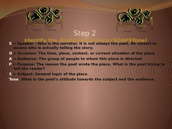 Poetry Drill Presentation Tool