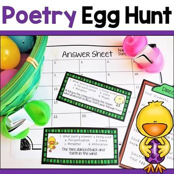 Poetry Egg Hunt