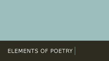 Poetry Elements