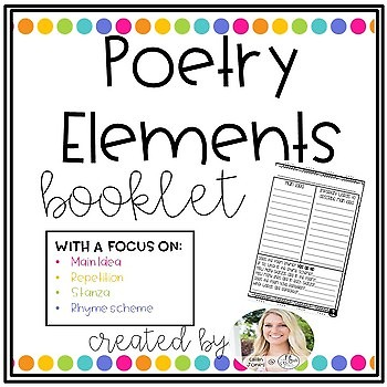 Poetry Elements Booklet