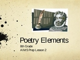 Poetry Elements Overview PowerPoint
