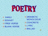 Poetry Examples PowerPoint