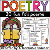Fall Poetry