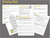 Poetry & Figurative Language Worksheets