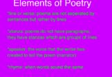 Poetry Flip-Chart