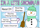 "Poetry Flipchart for ActivInspire; ""I'm a Little Snowman."""