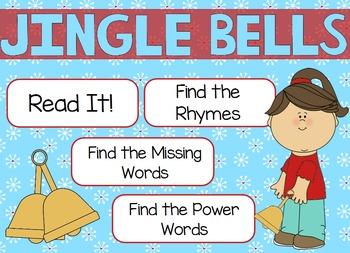 """Poetry Flipchart for ActivInspire; """"Jingle Bells"""""""