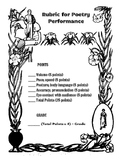 Poetry Fluency Recitation Rubric Scoring Sheet