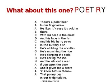 "Poetry - For All Those Students Who Claim They ""Hate"" Poetry"
