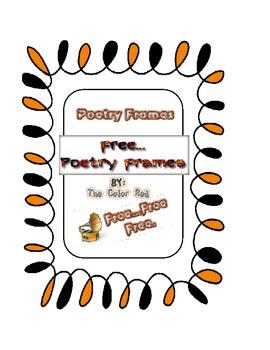 Poetry Frames
