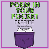 Free Poetry Pack {Poem In Your Pocket Day}