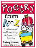 Alphabet Poetry Book {Poetry From A to Z}