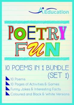 Poetry Fun - 10 Poems in 1 Bundle (Set 1)