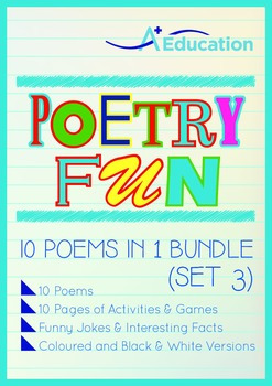 Poetry Fun - 10 Poems in 1 Bundle (Set 3)