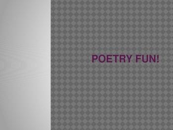 Poetry Fun
